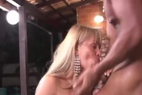 busty Brazilian shemale hammered With penis